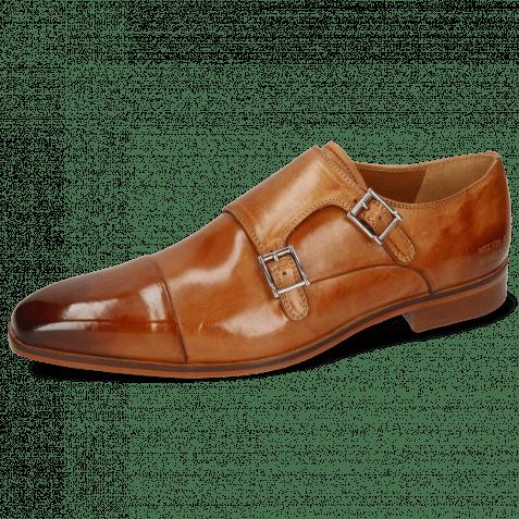 Monk Schuhe Lance 1 Tan Lining Rich Tan