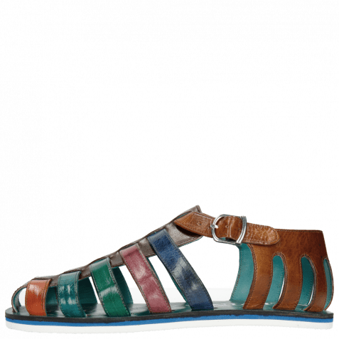 Sandalen Sam 3 Classic Dark Brown Orange Ice Blue Electric Green Lilac Electric Blue Tan Modica White
