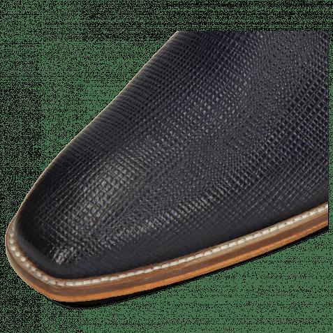 Derby Schuhe Alex 1 Venice Haina Navy