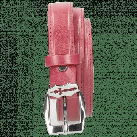 Gürtel Linda 1 Dark Pink Sword Buckle