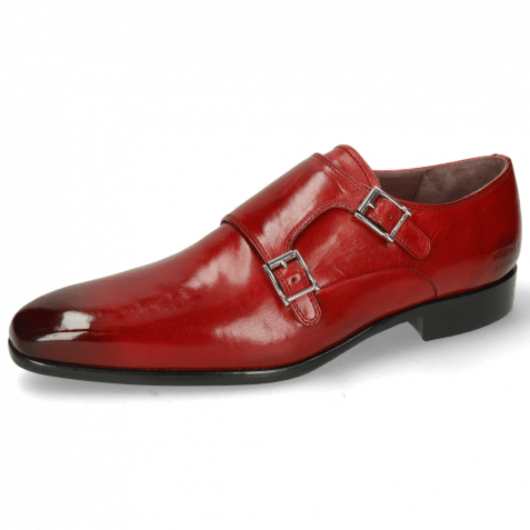 Monk Schuhe Lance 10 Ruby Lining Purple Flex