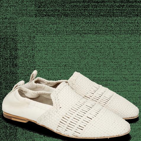 Loafers Hailey 1 Mignon Zero Glove Nappa Ivory