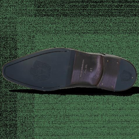 Monk Schuhe Lance 1 Black Lining Purple Flex