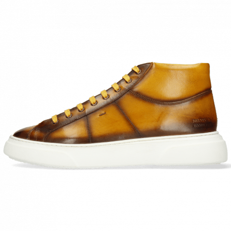 Sneakers Mick 1 Pavia Indy Yellow Shade Dark Brown