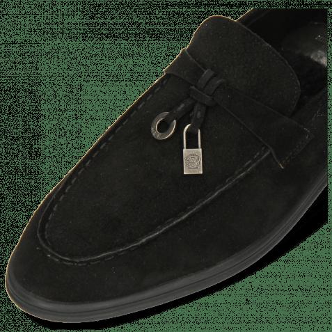 Loafers Adley 3 Como Black Accessory Gunmetal