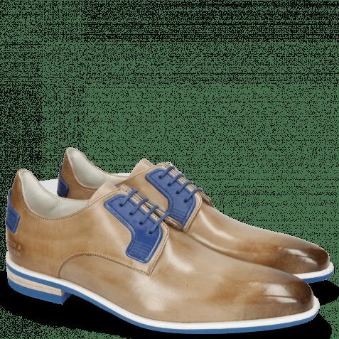 Derby Schuhe Dave 4 Tough Digital Electric Blue