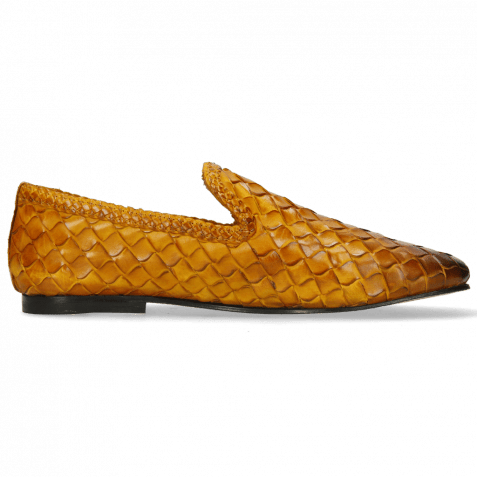 Loafers Mandy 1 Interlace Scale Weave Sun