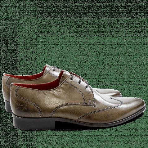 Derby Schuhe Toni 2 Forum Grey LS Red