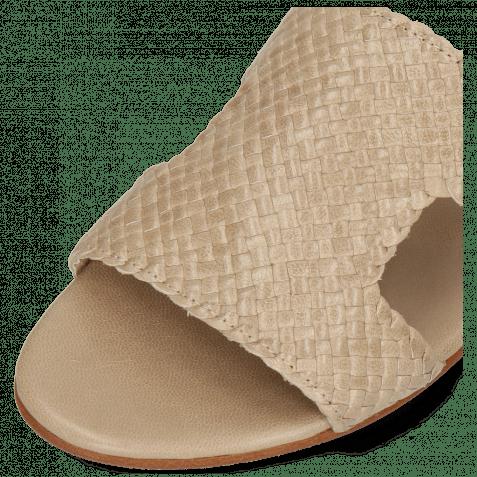 Pantoletten Hanna 74 Woven Brume Socks Foam