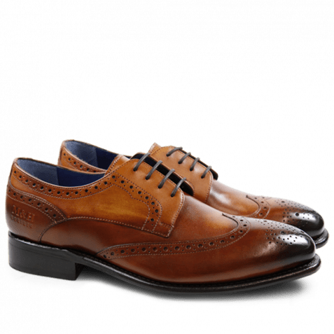Derby Schuhe Charles 2 Crust Wood LS