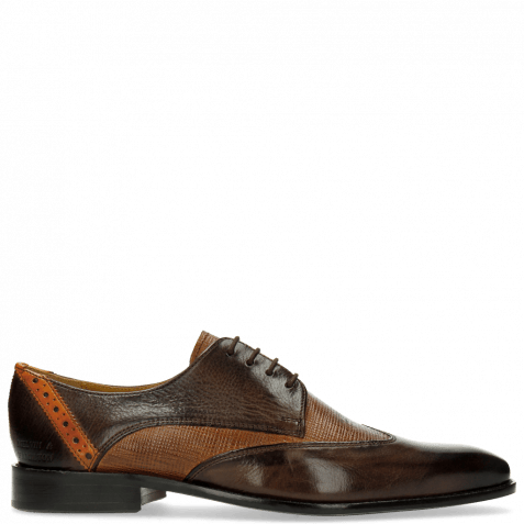 Derby Schuhe Xabi 1 Berlin Haina Dark Brown