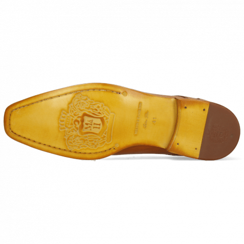 Derby Schuhe Elyas 4 Imola Tan Patch