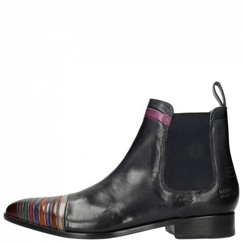 Stiefeletten Riley 4 Navy Multi Elastic Navy