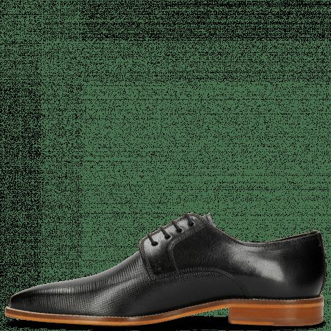 Derby Schuhe Alex 1 Venice Haina Black