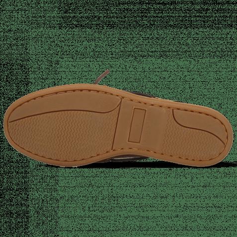 Bootsschuhe Jason 1 Suede Pattini Dark Brown Venice Turtle Tan