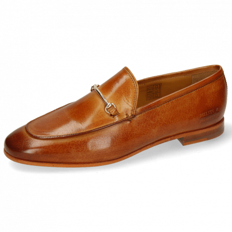 Loafers Scarlett 1 Venice Tan Trim Gold
