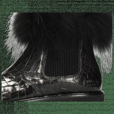 Stiefeletten Sally 114 Crock London Fog Collar Fur