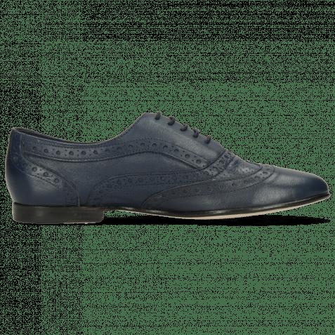 Oxford Schuhe Sonia 1 Nappa Perfo Navy