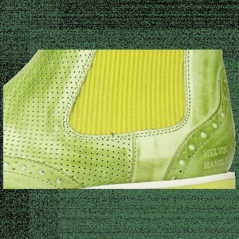 Stiefeletten Selina 29 Imola Perfo Verde Chiaro