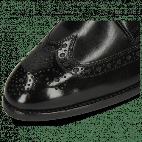 Derby Schuhe Kane 5 Black Lining Rich Tan HRS