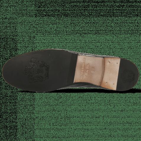 Loafers Scarlett 22 Soft Patent Black Trim Gold