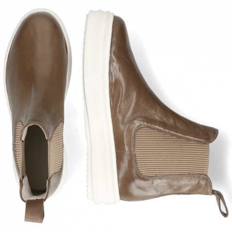 Stiefeletten Fay 1 Nappa Glove Taupe Loops