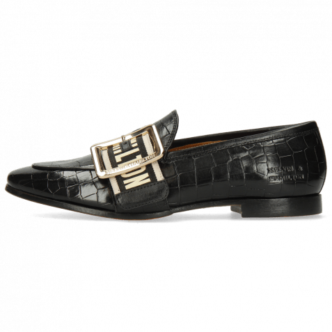 Loafers Scarlett 21 Vegas Crock Black Strap
