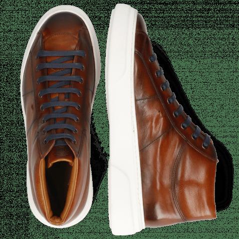 Sneakers Mick 1 Pavia Tan Shade Dark Brown