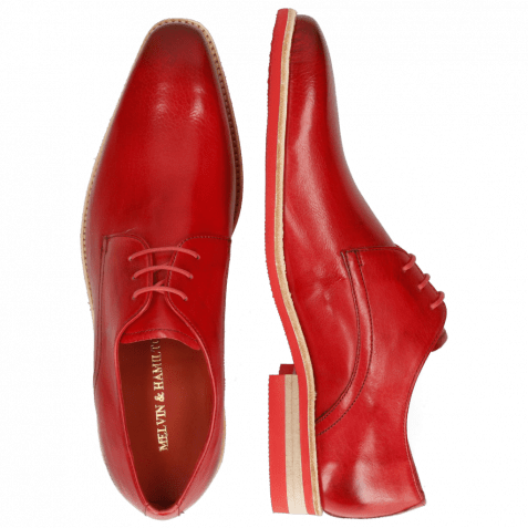 Derby Schuhe Lance 24 Imola Ruby