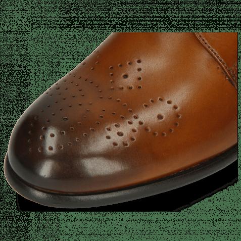 Derby Schuhe Sally 1 Wood Lining Rich Tan HRS