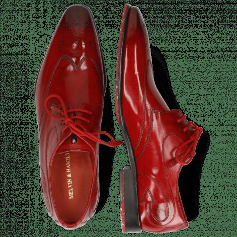 Derby Schuhe Elvis 63 Ruby Flex