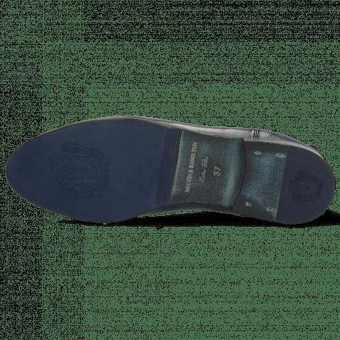 Stiefeletten Selina 48 Imola Navy Nappa
