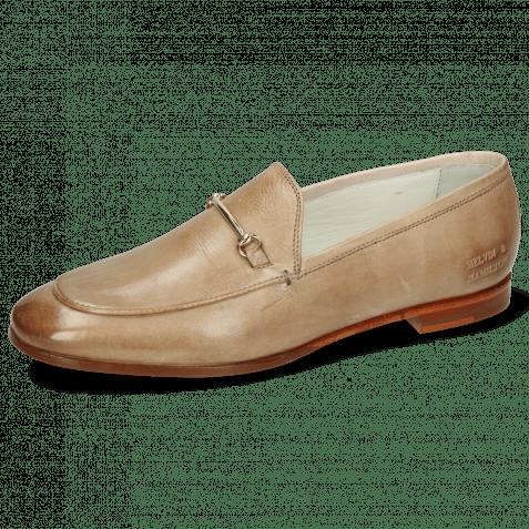 Loafers Scarlet 22 Imola Powder Trim Gold