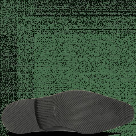 Derby Schuhe Dave 4 Black Rubber Black