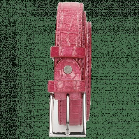 Gürtel Linda 1 Crock Dark Pink Classic Buckle