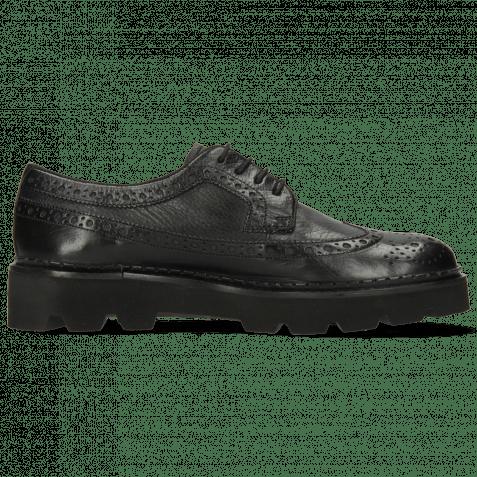 Derby Schuhe Jade 2 Monza Black