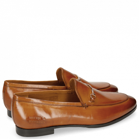 Loafers Scarlett 1 Tan Trim Gold RS Brown
