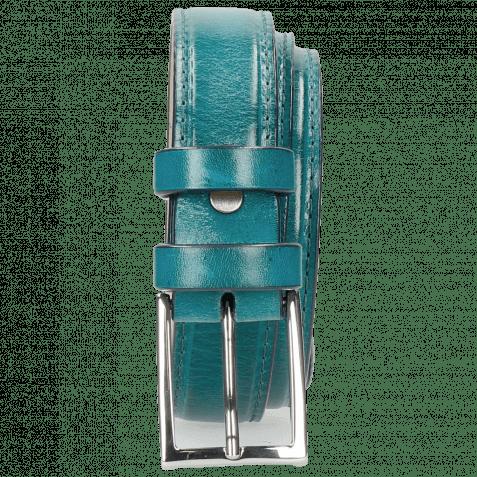 Gürtel Linda 1 Turquoise Classic Buckle