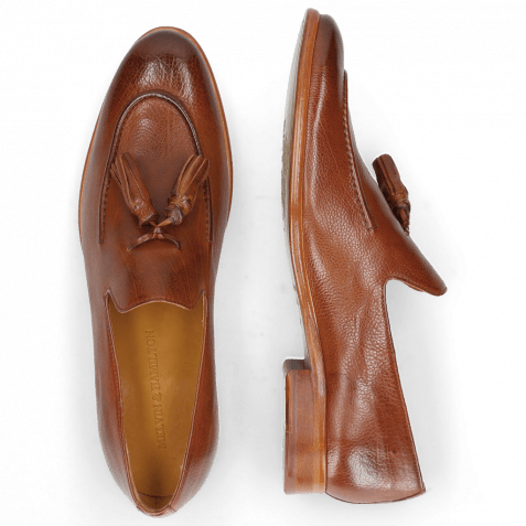 Loafers Clint 6 Pavia Tan Tassel