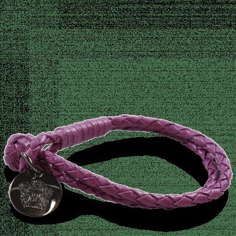 Armbänder Caro 1 Woven Eggplant Accessory Gunmetal