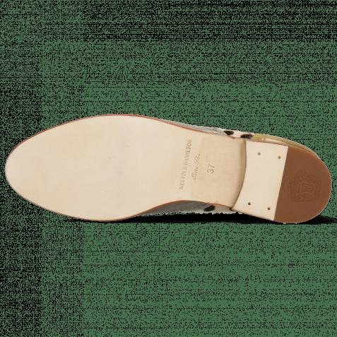 Oxford Schuhe Selina 56 Vegas Olivine Digital Sand Hairon Wildcat