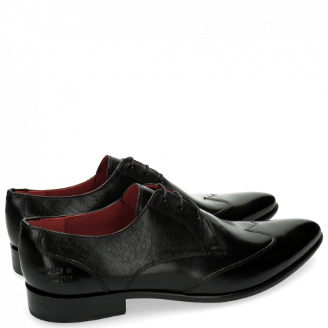 Derby Schuhe Toni 2 Forum Black LS Black