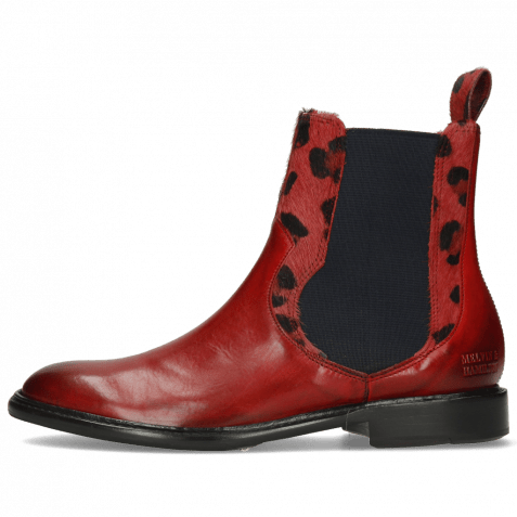 Stiefeletten Sally 113 Ruby Hairon Tanzania Red