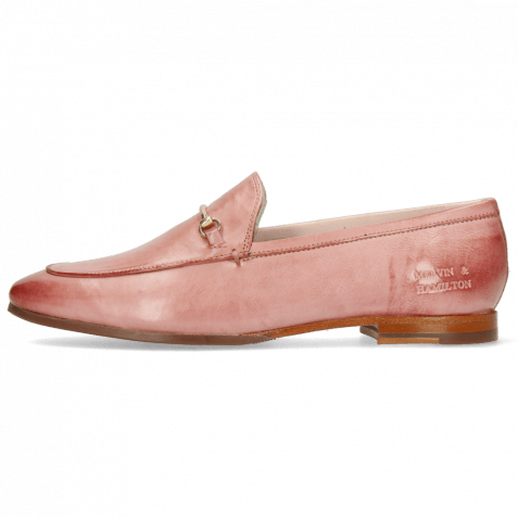 Loafers Scarlett 22 Imola Pale Rose Trim Gold