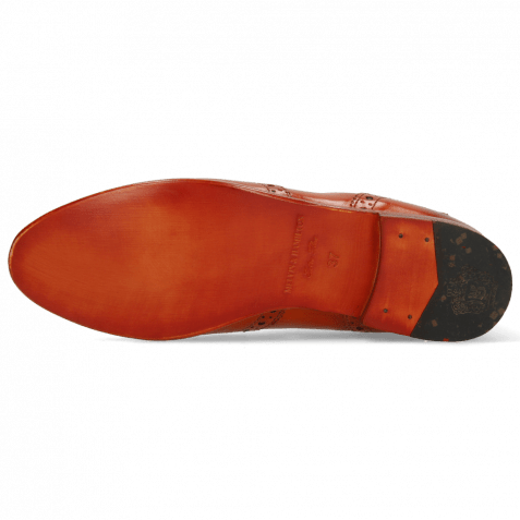 Stiefeletten Selina 6 Orange Elastic Navy Lining