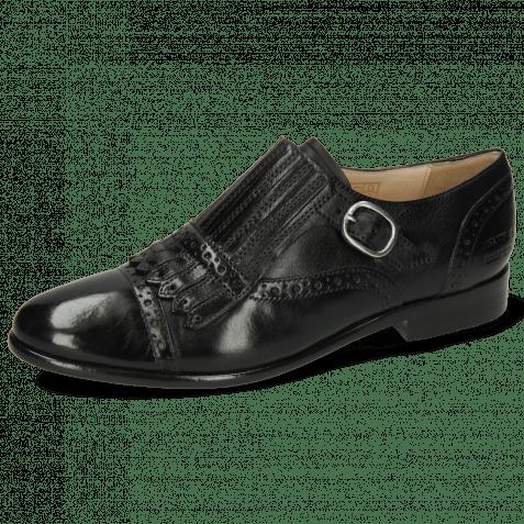 Monk Schuhe Selina 58 Imola Black Lining