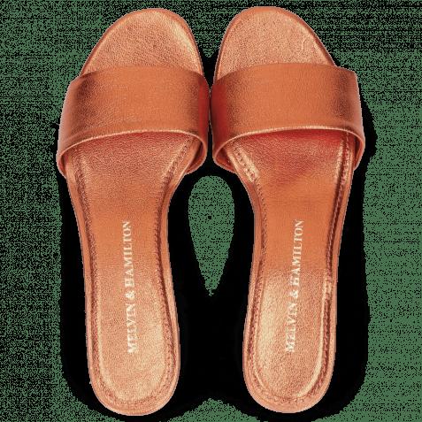 Pantoletten Alice 1 Woven Cherso Tangerine