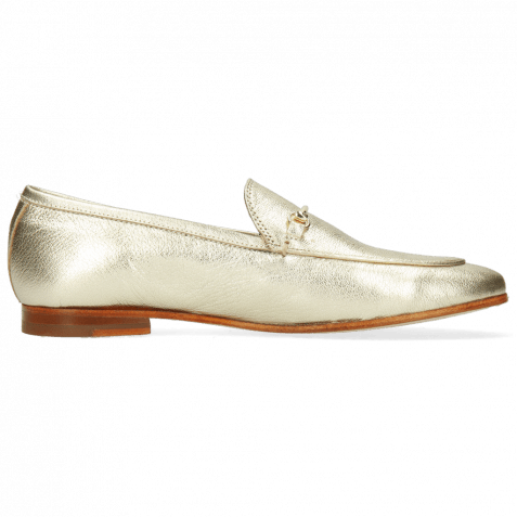 Loafers Scarlett 22 Idra Platino Trim Gold