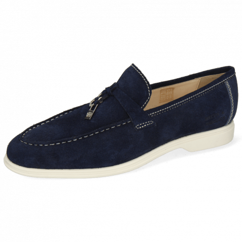 Loafers Earl 3 Oily Suede Navy