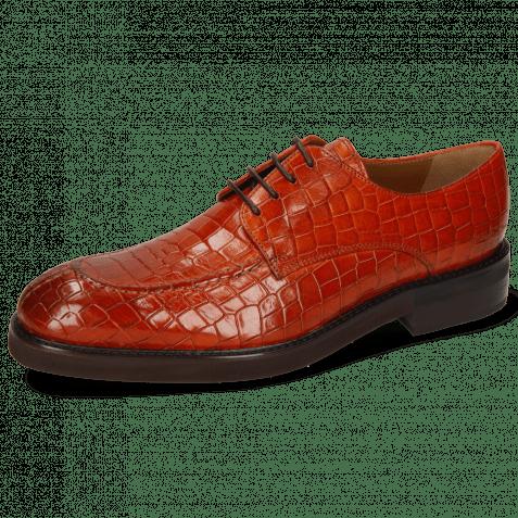 Derby Schuhe Parker 1 Crock Orange Genevra